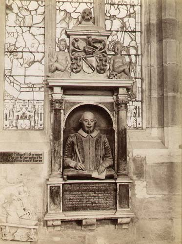 1890 Shakespeare Monument Photo